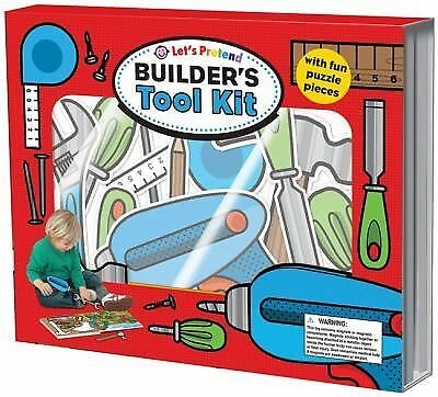 Let's Pretend Builders Tool Kit, Priddy, Roger, Acceptable Book