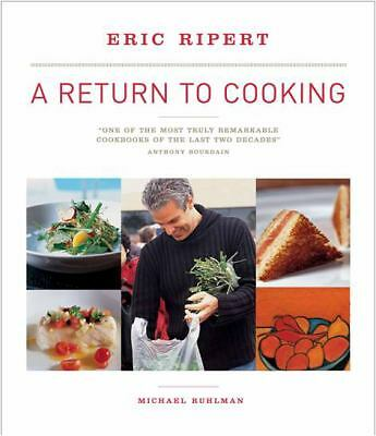 A Return to Cooking,Ripert, Eric, Ruhlman, Michael,  Acceptable  Book