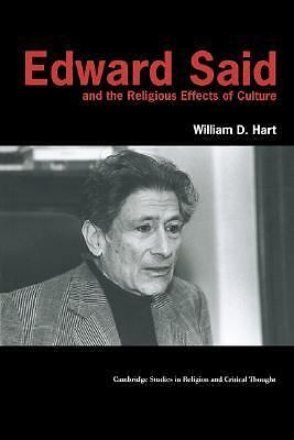 Edward Said and the Religious Effects of Culture (Cambridge Studies in Religion