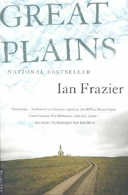 Great Plains,Frazier, Ian,  Acceptable  Book