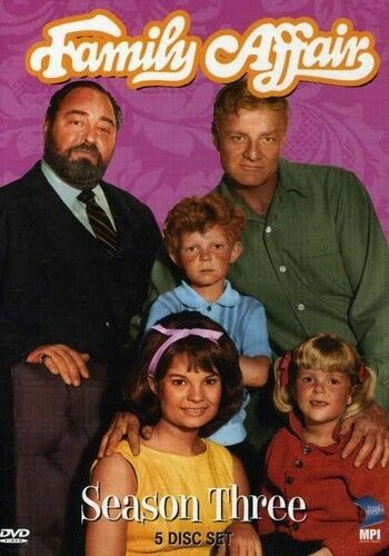Family Affair: Season 3, Very Good DVD, Butch Patrick, Rick Natoli, Gerald Edwar