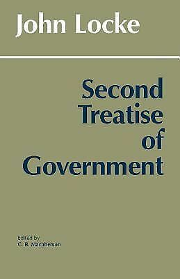 Second Treatise of Government,John Locke,  Acceptable  Book