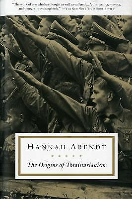 The Origins of Totalitarianism - Hannah Arendt - Good Condition