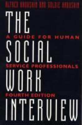 The Social Work Interview,Kadushin, Goldie, Kadushin, Alfred,  Acceptable  Book