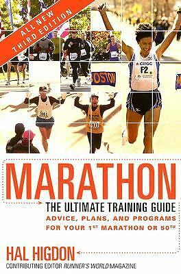Marathon: The Ultimate Training Guide - Higdon, Hal - Good Condition