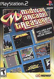 Midway Arcade Treasures: Playstation 2, Good  Video Games