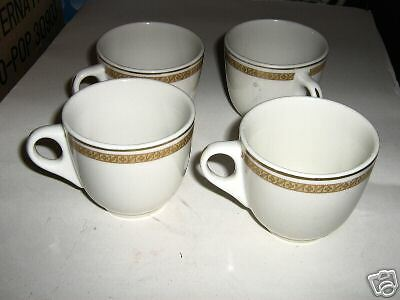 RARE SYRACUSE CHINA CUPS ( 96-A BILTMORE ) 40s OR 50s manufactured in  jan.1967