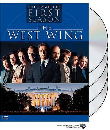 The West Wing FIRST SEASON DVD 2003 4 disc