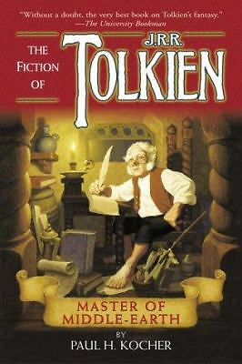 Master of Middle-Earth: The Fiction of J.R.R. Tolkien,kocher, paul h.,  Good Boo