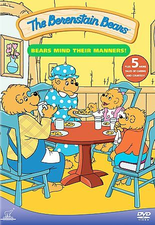 The Berenstain Bears: Bears Mind Their Manners!, Very Good DVD, Maryke Hendrikse