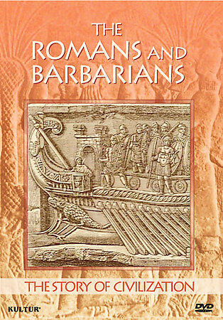 The Story of Civilization - Romans and Barbarians, New DVD, ,