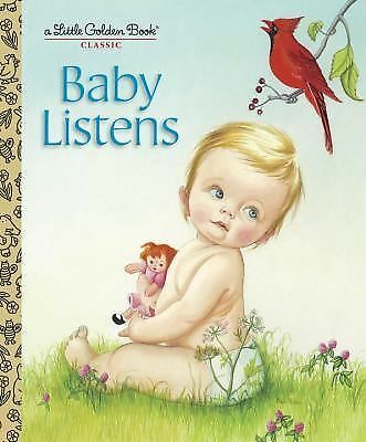 Baby Listens (Little Golden Book), Wilkin, Esther, Good Book