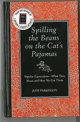 Spilling the Beans on the Cat's Pajamas, Parkinson, Judy, Good Book