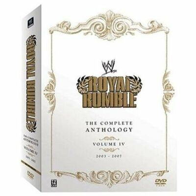 WWE - Royal Rumble Anthology: Vol. 4 (DVD, 2008, 5-Disc Set)
