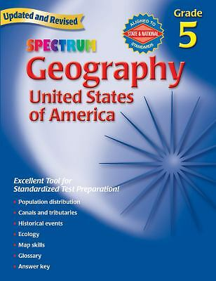 Geography: The United States of America (Spectrum), , Good Book