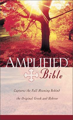 Amplified Bible, Indexed, Zondervan, Good Book