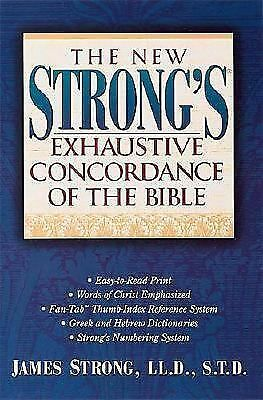 The New Strong's Exhaustive Concordance Of The Bible, Strong, James, Acceptable