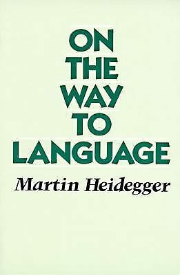 On the Way to Language, Heidegger, Martin, Acceptable Book