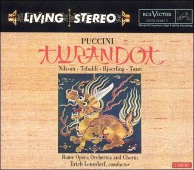 Puccini Turandot - Jussi Bjorling, Birgit Nilson - Audio CD - Good Condition