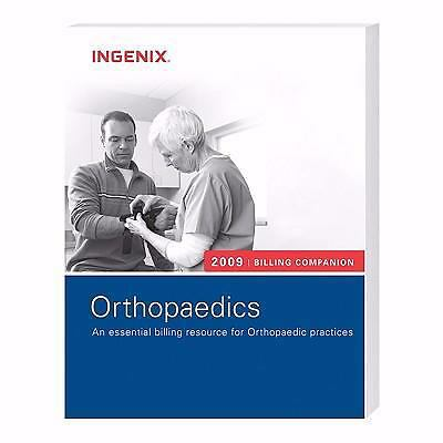 Billing Companion for Orthopaedics 2009,Ingenix,  Good Book