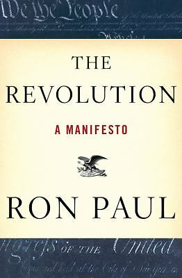 The Revolution: A Manifesto - Ron Paul - Good Condition