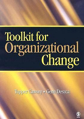 Toolkit for Organizational Change,,  Acceptable  Book