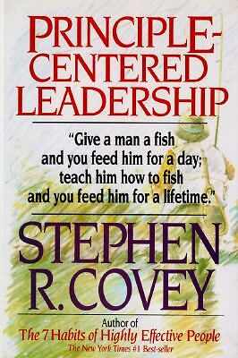 Principle-Centered Leadership - Covey, Stephen R. - Good Condition