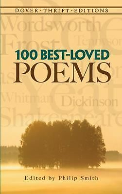 100 Best-Loved Poems (Dover Thrift Editions), , Acceptable Book