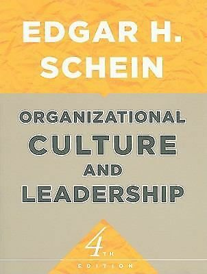 Organizational Culture and Leadership, Schein, Edgar H., Acceptable Book