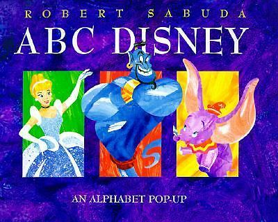ABC Disney Pop-Up, Sabuda, Robert, Good Book