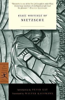 Basic Writings of Nietzsche (Modern Library Classics), Friedrich Nietzsche,  Boo