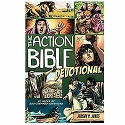 The Action Bible Devotional: 52 Weeks of God-Inspired Adventure (Action Bible Se