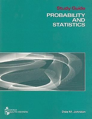 Probability and Statistics, Johnson, Dale M., Very Good Book
