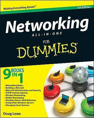 Networking All-in-One For Dummies, Lowe, Doug, Acceptable Book