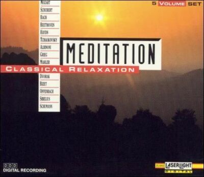 Meditation: Classical Relaxation, Volumes 1-5, , New Box set
