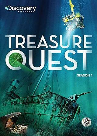 Treasure Quest: Season 1 (DVD, 2009, 3-Disc Set)