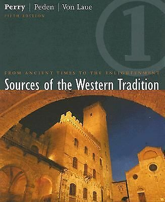 Sources of the Western Tradition: From the Ancient Times to the Enlightenment, V