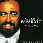 CD Luciano Pavarotti - O Sole Mio (vocal opera, classical)