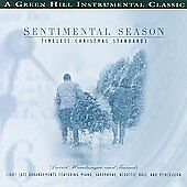 CD Sentimental Season:  Timeless Christmas Standards ~ Light Jazz Arrangements