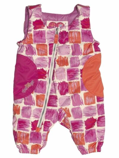 NEW Obermeyer Arielle Bib Pants Girls 12 Months Pink Baby Winter Snow Ski Ret$70
