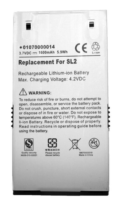 NEW Sirius Stiletto SL2 Replacement Battery 1600 mAh US Seller Free Ship