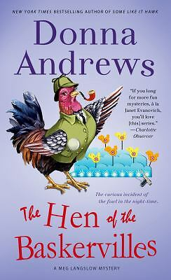 The Hen of the Baskervilles: A Meg Langslow Mystery, Andrews, Donna, Good Book