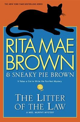 The Litter of the Law: A Mrs. Murphy Mystery, Brown, Rita Mae, Good Book