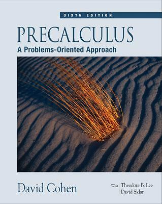 Precalculus: A Problems-Oriented Approach (with CD-ROM and iLrn(TM) Tutorial), C