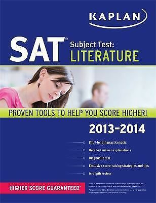 Kaplan SAT Subject Test Literature 2013-2014 (Kaplan Test Prep), Kaplan, Good Bo