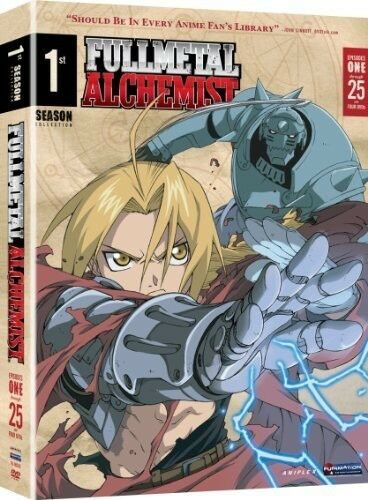 Fullmetal Alchemist: Season 1 (Viridian Collection), Good DVD, Vic Mignogna, Aar