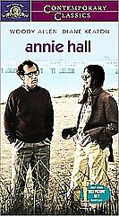 New VHS Movie Woody Allen Diane Keaton Annie Hall