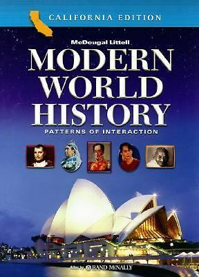 McDougal Littell World History: Patterns of Interaction California: Student Edit
