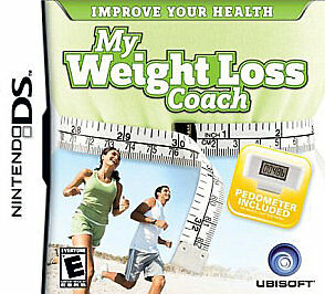 MY WEIGHT LOSS COACH W/PEDOMETER  (NDS, DSi XL, 2008)-BRAND NEW!!!