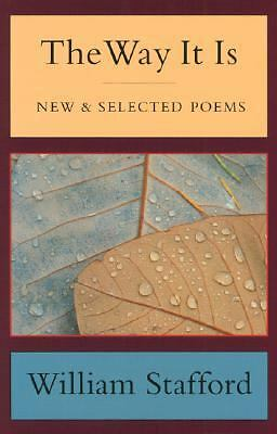 The Way It Is: New and Selected Poems, Stafford, William, Good Book